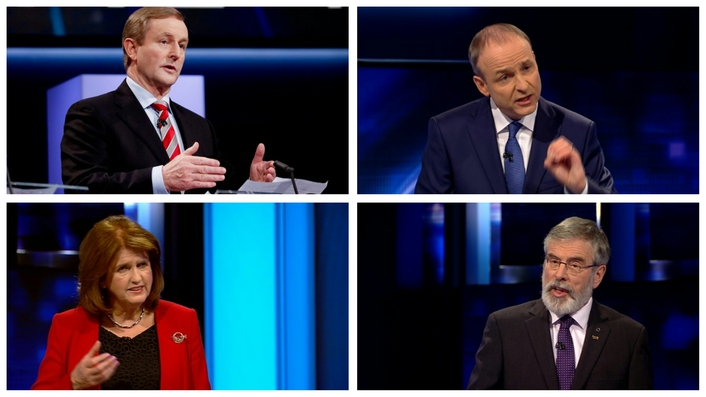 Leaders assess the four-way debate
