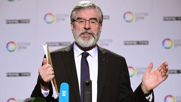 Gerry Adams questioned whether the taxpayer got the best value for money in the deal