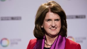 Labour leader Joan Burton has again asked voters to think twice when they cast their ballots