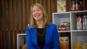 Glanbia's group managing director Siobhán Talbot