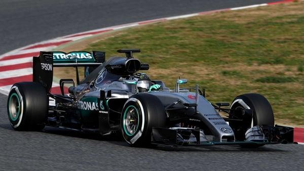 Nico Rosberg of Mercedes GP drives during day three of winter testing at Circuit de Catalunya