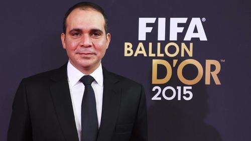 Prince Ali twice ran for FIFA president