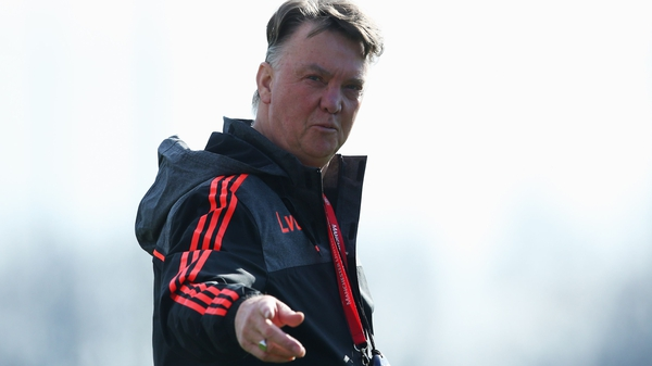 Louis van Gaal insists that Manchester United are not about the Europa League
