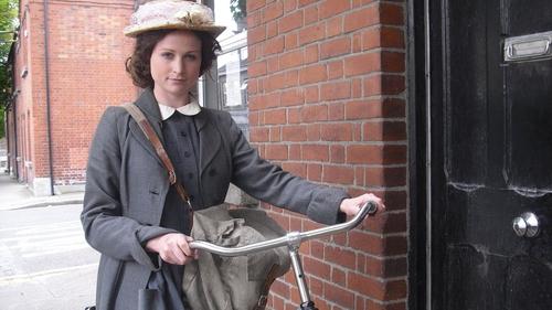 Actress Niamh Algar as Margaret Skinnider in RTÉ's Réabhlóid: Margaret Skinnider - A Woman of Calibre from 2011
