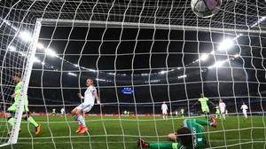 David Silva got Manchester City's second goal