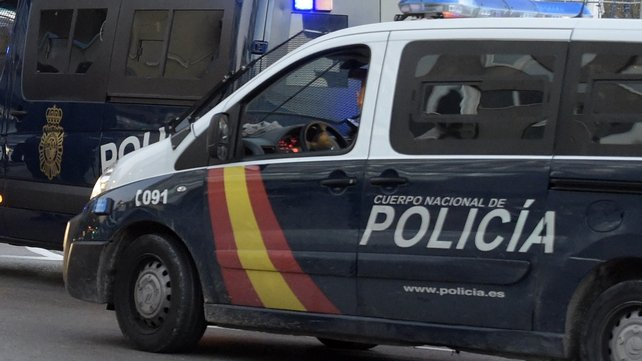 The man was arrested in Alicante yesterday