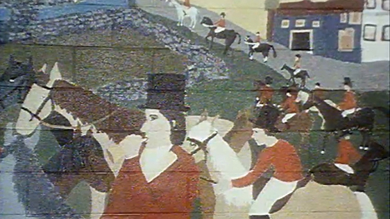 Mural, Athenry, 1981