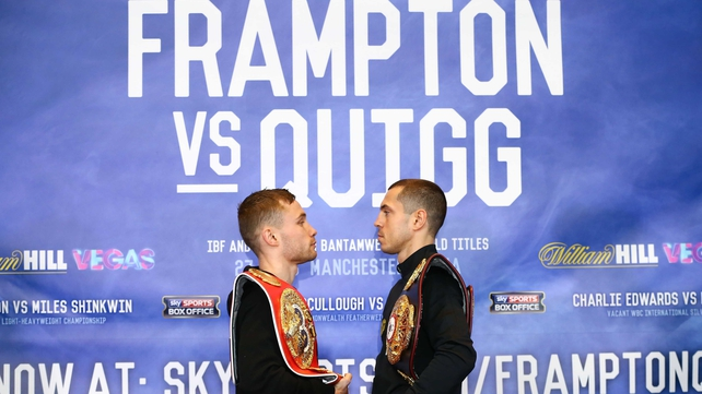 Frampton v Quigg is finally upon us