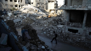 Damascus has been destroyed by fighting