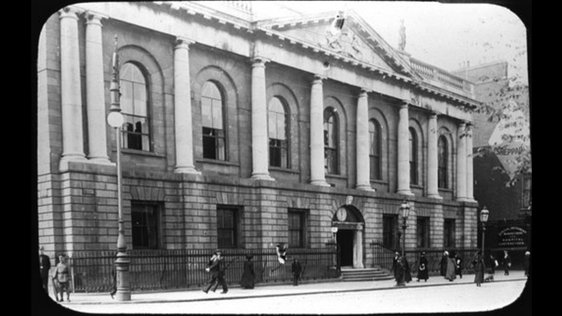 College of Surgeons 1916 Murtagh Collection RTÉ Stills Library