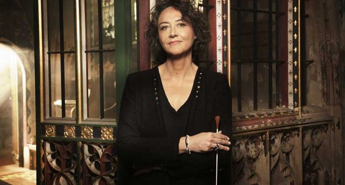 Nathalie Stutzmann, contralto and conductor