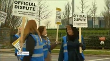 12-hour strike under way at 999 call centre