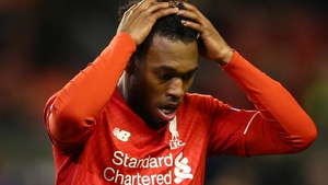 Daniel Sturridge is not happy with being asked to play out wide at Liverpool