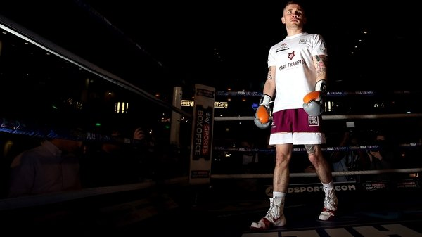 Carl Frampton gets Phil Taylor's vote