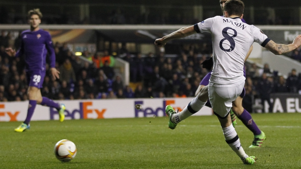 Ryan Mason slots home Spurs' first