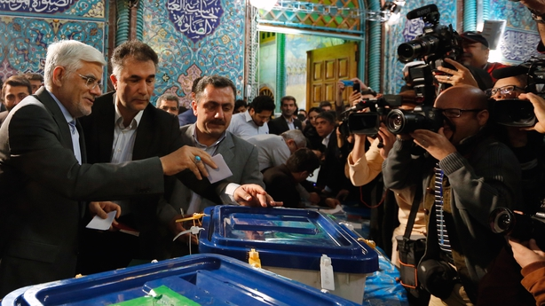 Former Iranian vice president Mohammad Reza Aref