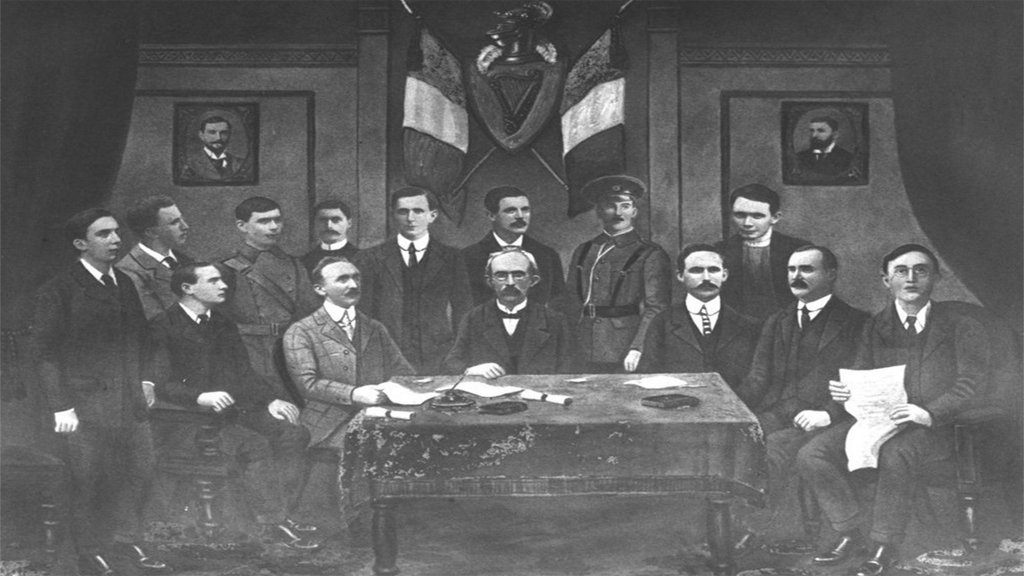 Leaders of the Easter Rising who were executed in May and August 1916