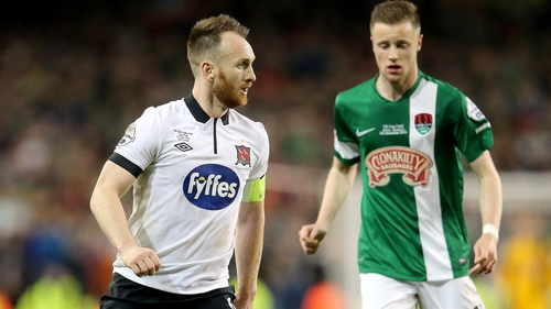 Stephen O'Donnell leads Dundalk into battle against Cork