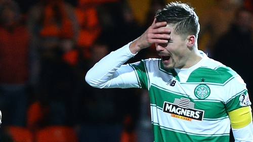 A night of frustration for Celtic and Mikael Lustig