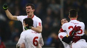 Tyrone's U21 players celebrate All-Ireland victory