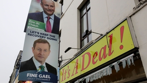 Fine Gael and Fianna Fáil are set to be the two largest parties