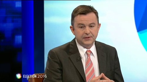 Brian Hayes accepted that Fine Gael's election campaign was 'too Dublin-based'