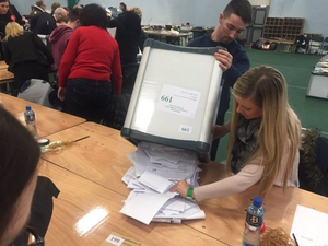 The emptying of the ballot box in Dublin West