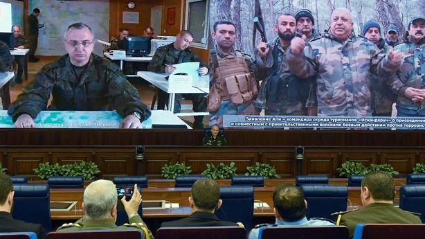 Sergei Rudskoi briefs reporters in Moscow