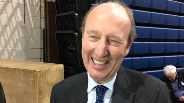 Shane Ross was the first TD elected nationally