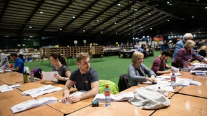 Counting Centre at the RDS, Dublin