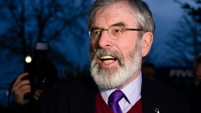 Gerry Adams believes another election is likely