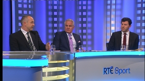 The RTÉ Rugby panel