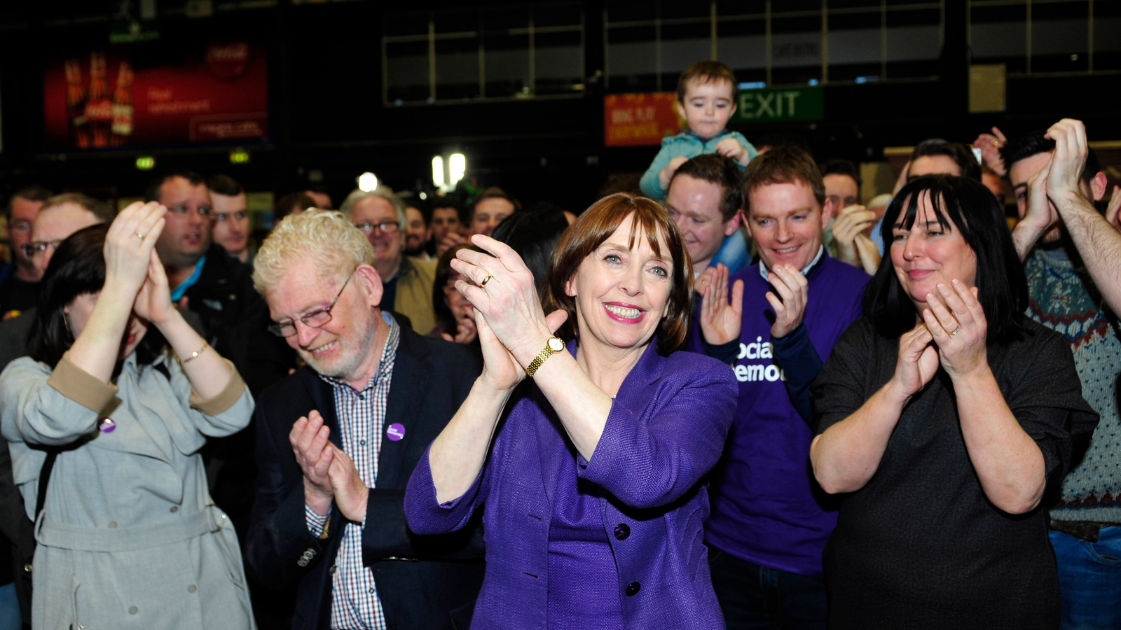 Image - Róisín Shortall pictured during the 2016 General Election