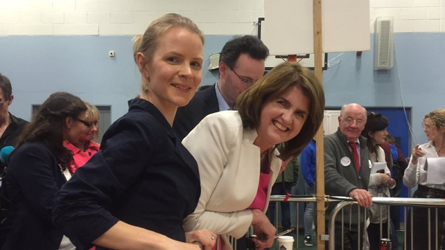 Joan Burton has been re-elected in Dublin West on the fifth count