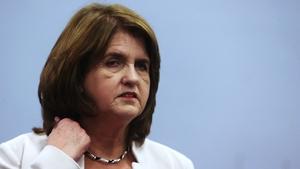 Joan Burton faces a difficult time as Labour losses mount
