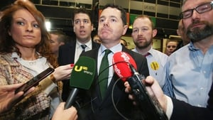 Fine Gael's Paschal Donohoe was elected in Dublin Central  without reaching the quota