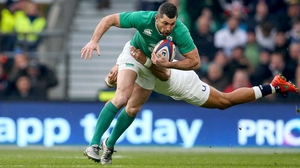Rob Kearney felt 'tightness' in his leg after training at the Aviva Stadium on Saturday
