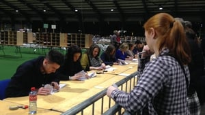 A recount got under way in Dublin South Central this afternoon