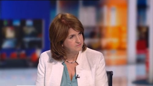 Joan Burton said the electorate did notvote for the proposition of a Fine Gael and Labour government