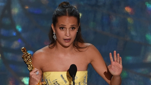 Alicia Vikander is set to squeeze into the tight cargo pants vacated by Angelina Jolie