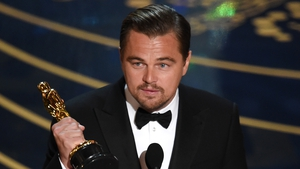 Leonardo DiCaprio wins an Oscar for The Revenant earlier this year - eyes on a different prize now with his forthcoming green-themed documentary