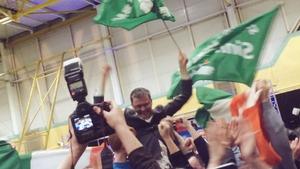 Sinn Féin's David Cullinane said Fine Gael and Fianna Fáil should now work together