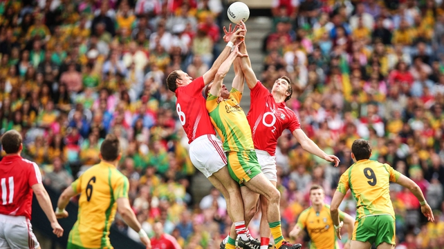 The high catch has become less common in Gaelic football