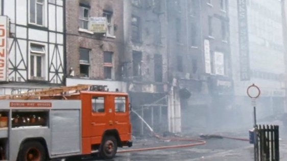 Fire on Mary Street, Dublin (1986)