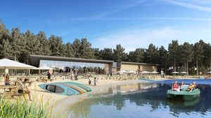 An artist's impression of Center Parcs Longford Forest
