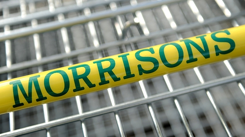 Morrisons said its group like-for-like sales, excluding fuel and VAT sales tax, fell 1.9% in its second quarter