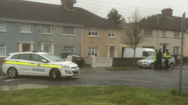 The assailants left the scene in a silver or grey car