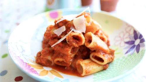 Siobhan's Pasta & Chicken with Vegetable Sauce