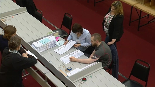 Fine Gael's James Bannon called for the recount in Longford-Westmeath