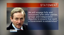 Taoiseach says FG will engage fully with other parties to form government